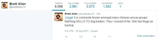 Brett Allen calling Mrs Y DMT trader12022407_10205883879148378_2533220364118449430_o